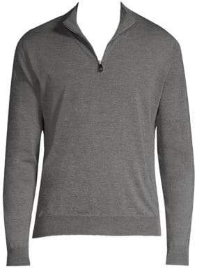 Corneliani Quarter-Zip Sweater