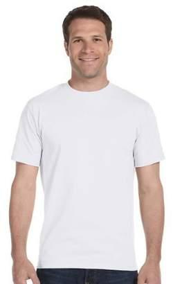 Hanes Men's 5Pack Crew Neck Tagless White Undershirts Crewneck T-Shirts, 2XL