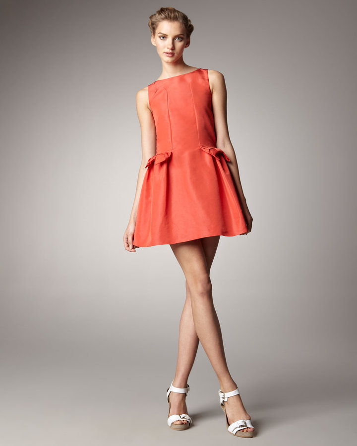 RED Valentino Bow-Pocket Dress