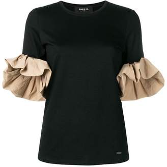 Paule Ka flared sleeve T-shirt