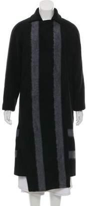Tibi Long Wool Coat