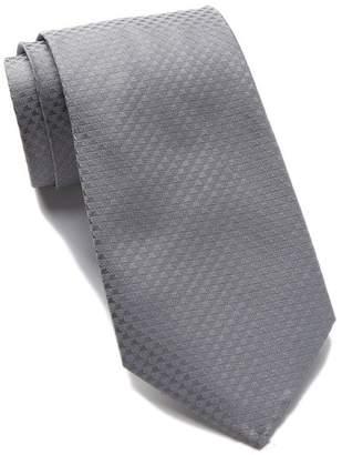 Calvin Klein Silk Dual Houndstooth Tie