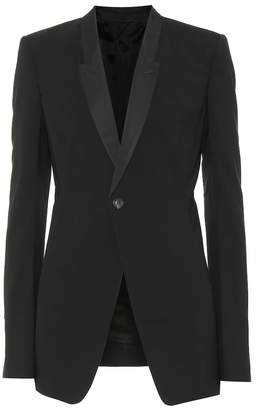 Rick Owens Stretch wool blazer