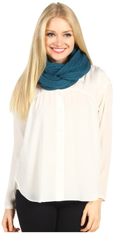 Gabriella Rocha Bovary Infinity Scarf (Teal) - Accessories