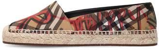 Burberry 20mm Hoodgeson Canvas Espadrilles