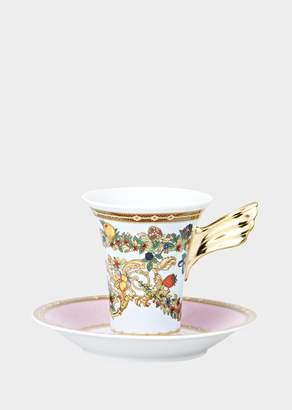 Versace Le Jardin Coffee Cup & Saucer