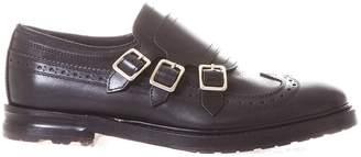 Alexander McQueen Leather Monk-strap Brogue