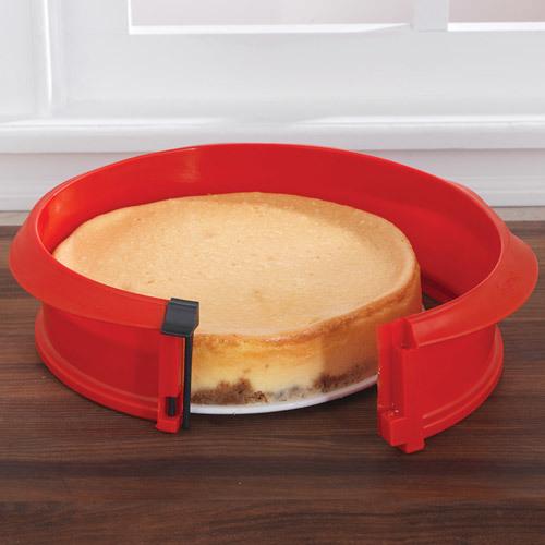Lekue Springform Pan with Ceramic Plate, 9-inch