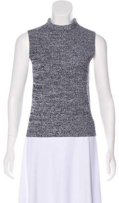 Theory Mock Neck Sleeveless Sweater