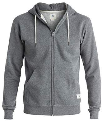 DC Men's Rebel Zip-Up Hoodie Sweatshirt