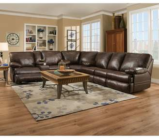 Darby Home Co Obryan Simmons Reclining Sectional