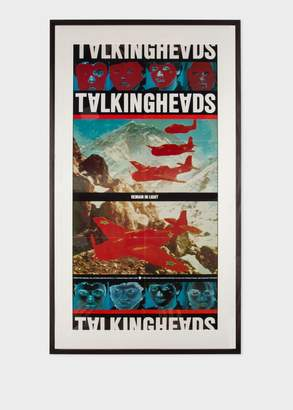 Paul Smith Vintage Framed Poster - Talking Heads - Remain In Light 1980