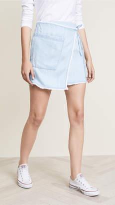 Splendid Architect Wrap Skirt
