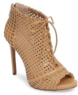 Women's Jessica Simpson Rendy Latticework Peep Toe Bootie $118.95 thestylecure.com