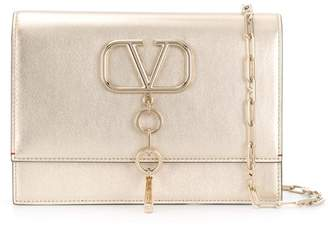 Valentino small Vcase metallic bag