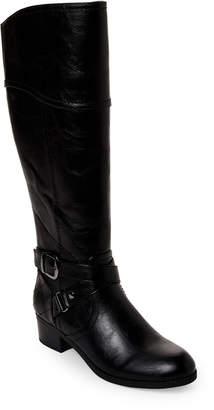 Unisa Black Untinnaz Wide Calf Riding Boots