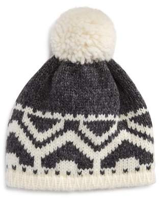 Bloomingdale's The Men's Store at The Men's Store Fair Isle Pom-Pom Hat - 100% Exclusive