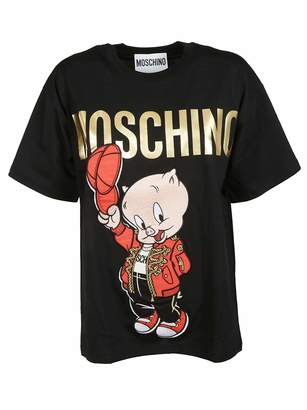 Moschino Women's A077910401555 Cotton T-Shirt