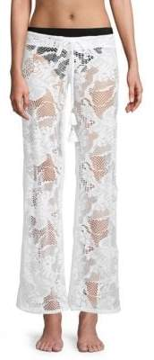 Pilyq Flora Lace Cover-Up Pants