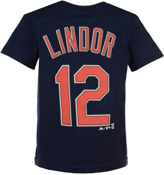 Majestic Mlb Francisco Lindor.t-Shirt, Little Boys (4-7)