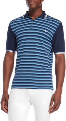 Fred Perry Stripe Waffle Polo