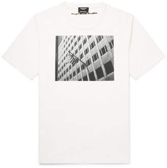 Calvin Klein + Andy Warhol Foundation Printed Cotton-Jersey T-Shirt