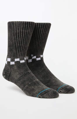Stance Checkness Washed Crew Socks
