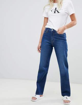 Calvin Klein Jeans exclusive to ASOS american classic high rise straight leg jean