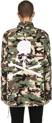 Oversized Military Canvas Shirt