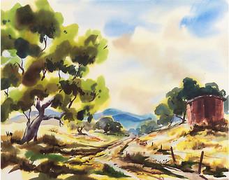 One Kings Lane Vintage Summer Landscape - C. 1950 - McNaught Fine Art Art