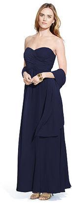 Ralph Lauren Strapless Georgette Gown $240 thestylecure.com