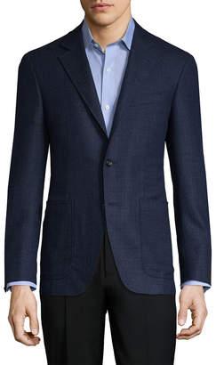 Canali Silk Suit Jacket