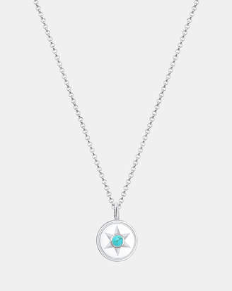 Necklace Pendants Star Astro Boho Howlite 925 Sterling Silver