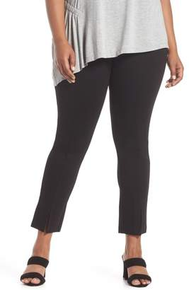 Sejour Slit Hem Ankle Leggings