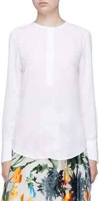 Equipment 'Mabel' concealed placket silk crepe blouse