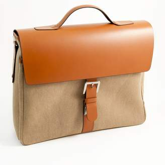 Bey-Berk Bey Berk Multi-Compartment Briefcase