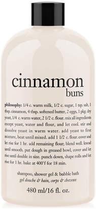 philosophy Cinnamon Buns Ultra Rich 3-In-1 Shampoo, Body Wash, And Bubble Bath, 16 Oz.