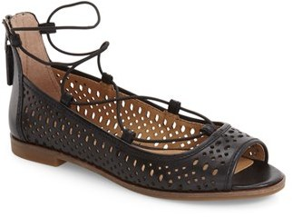 Women's Lucky Brand Geenee 2 Ghillie Sandal $99.95 thestylecure.com