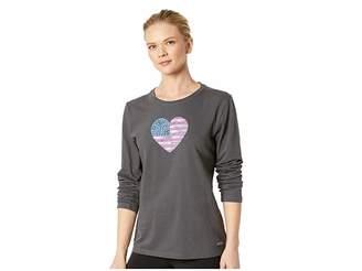 Life is Good American Love Crusher Long Sleeve T-Shirt