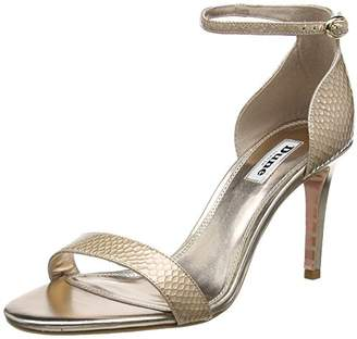 Dune Women's Mortimer Ankle Strap Sandals,41 EU