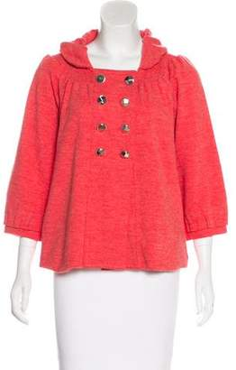Marc by Marc Jacobs Wool Long Sleeve Jacket