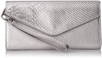 Liebeskind Berlin Women's Ceuta Metallic Leather Wristlet