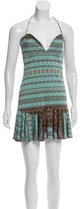 Mara Hoffman Printed Silk Mini Dress