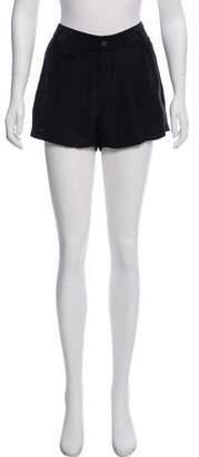 Rag & Bone Silk Mini Shorts