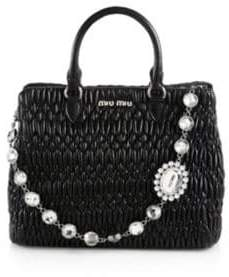 271ec83355ea Miu Miu Nappa Leather Bags For Women - ShopStyle UK