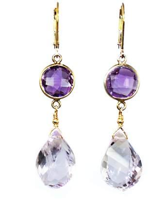 Melinda Lawton Jewelry Amethyst Briolette Earrings