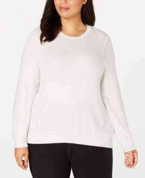 Eileen Fisher Plus Size Textured Sweater
