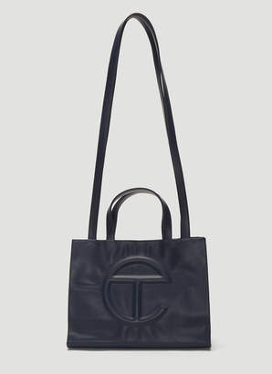 Telfar Medium Shopping Bag in Navy