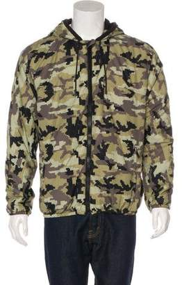 Givenchy Digital Camouflage Print Jacket