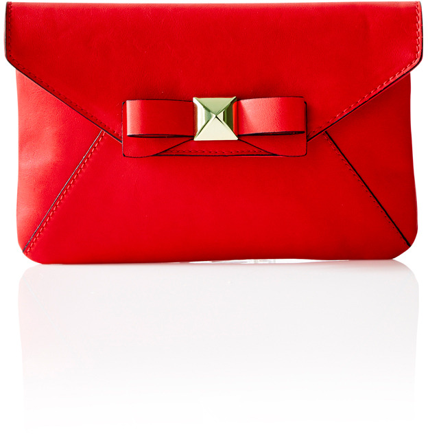 The Limited Colorful Bow Wristlet